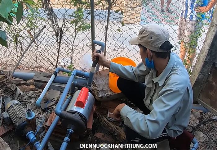 Hướng dẫn cách sửa máy bơm giếng khoan