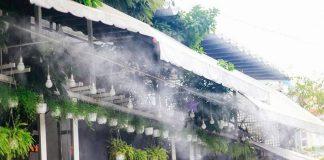 Lắp hệ thống phun sương