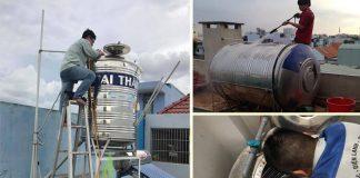 vệ sinh bồn nước tại đà nẵng