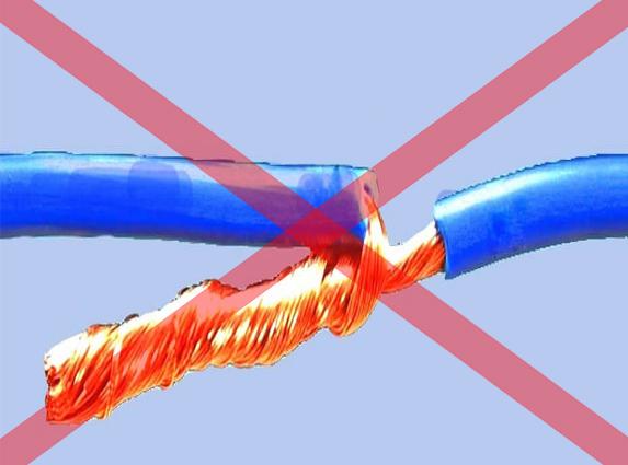 Nối dây điện sai kĩ thuật gây ra sự cố đoản mạch