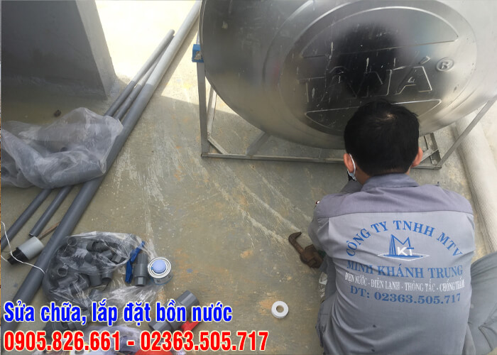 Sửa bồn nước tại Đà Nẵng