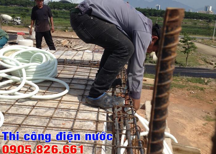Thi công điện nước Đà Nẵng