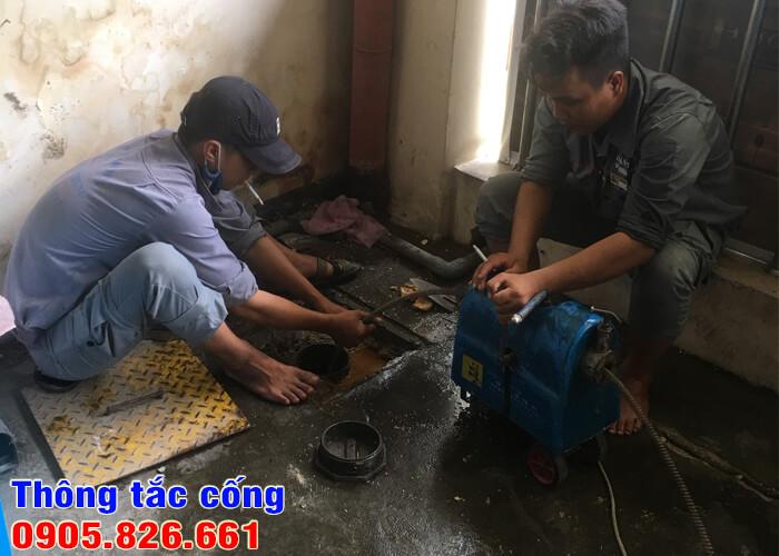 Thông tắc cống thoát nước Đà Nẵng