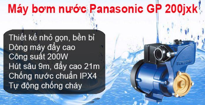 Máy bơm nước Panasonic GP 200jxk Đà Nẵng