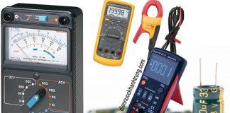 Cách đo tụ điện bằng đồng hồ