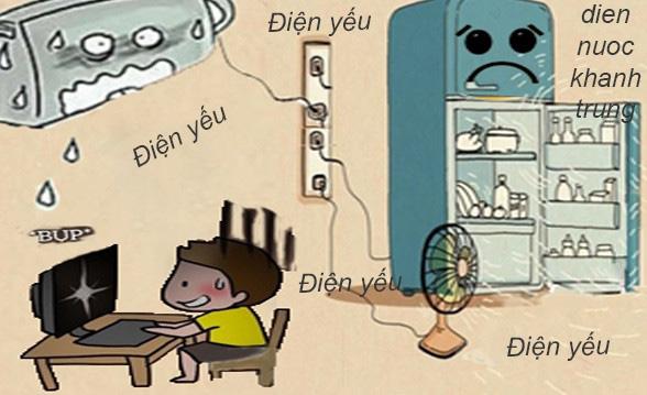 Hiện tượng điện yếu do sụt áp