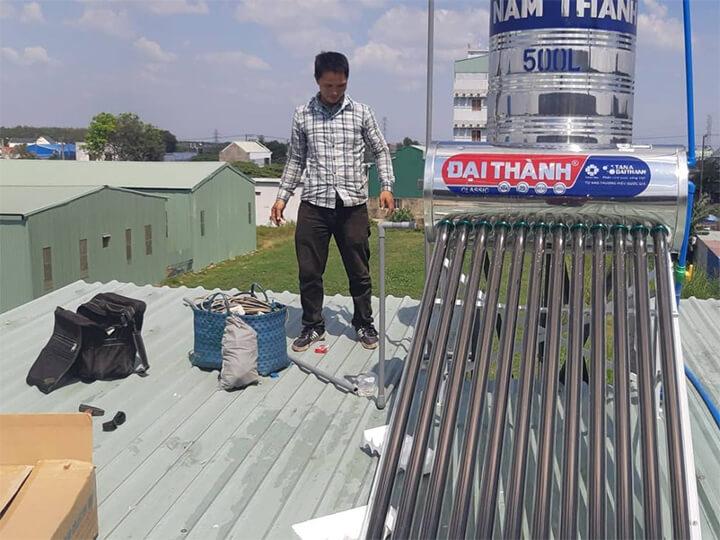 Lắp bộ hỗ trợ điện năng lượng mặt trời