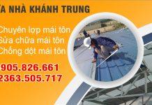Thi công lợp mái tôn tại Đà Nẵng