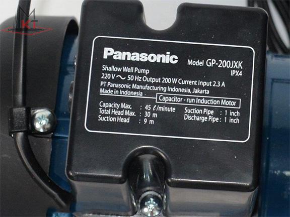thông số Máy bơm nước Panasonic GP-200JXK