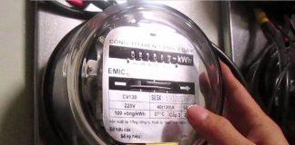 Cách chỉnh đồng hồ công tơ điện