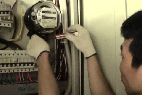 Chỉnh công tơ điện