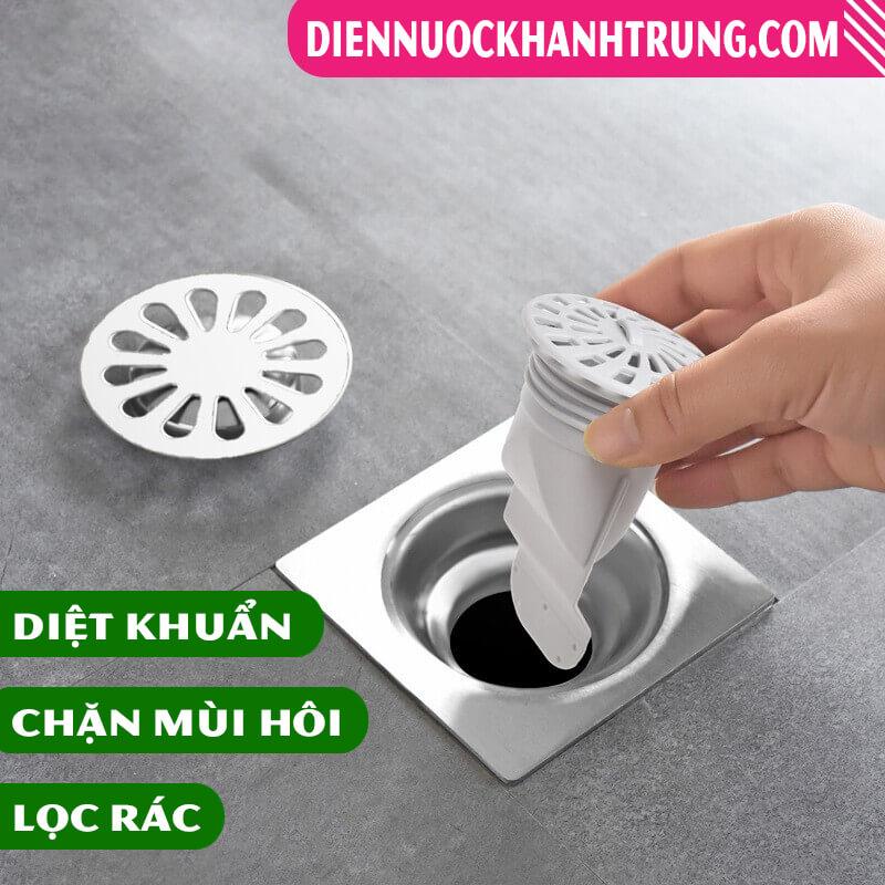 Ống chặn mùi hôi cống thoát nước