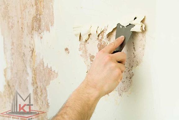 Cách sử dụng keo trám vá tường