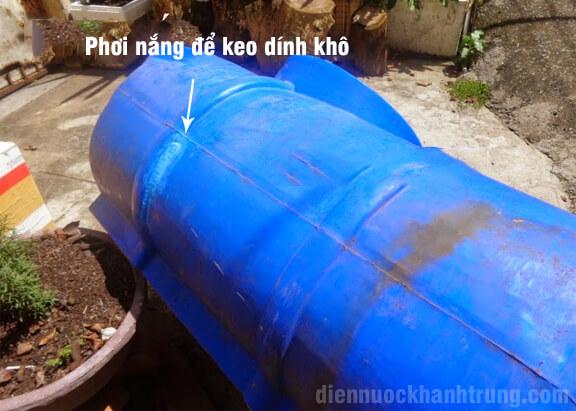 Cách sửa bồn nước bị nứt