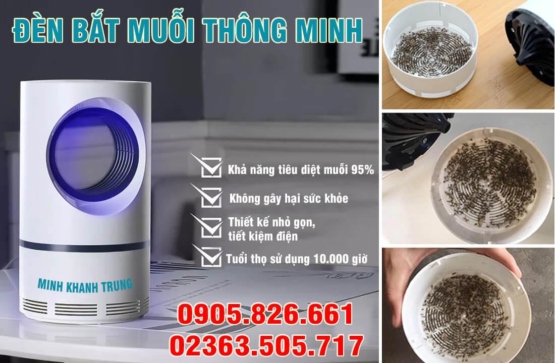 Đèn bắt muỗi thông minh tại Đà Nẵng