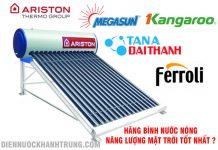 Hãng bình nước nóng năng lượng mặt trời
