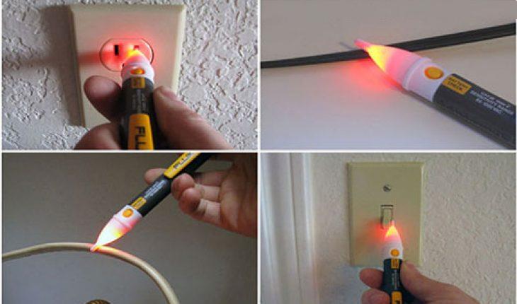Kiểm tra chập điện bằng bút thử điện