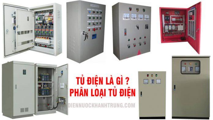 Tủ điện là gì ? Phân loại tủ điện phổ biến
