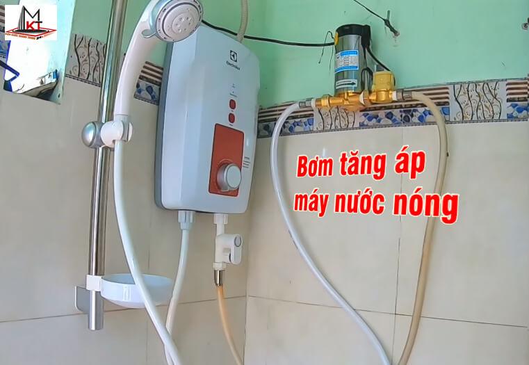 Bơm tăng áp mini cho máy nước nóng