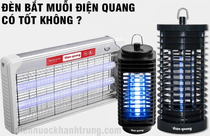 Đèn bắt muỗi điện quang có tốt không ?