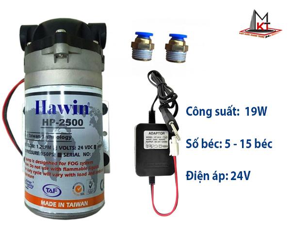 may-bom-phun-suong-Hawin HP 2500
