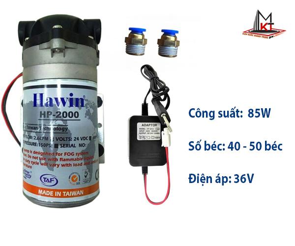 may-bom-phun-suong-Hawin KJ 2000
